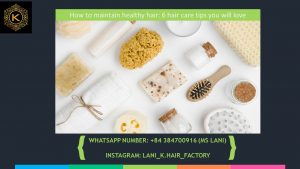 How to maintain healthy hair 1