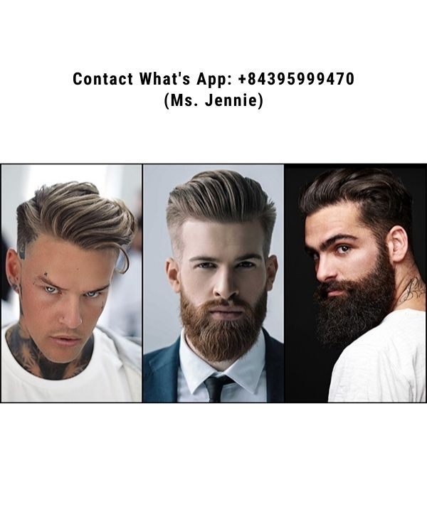 Long-hairstyles-for-men-are-brushed-backward
