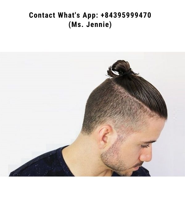 Long-hairstyles-for-men-is-tied