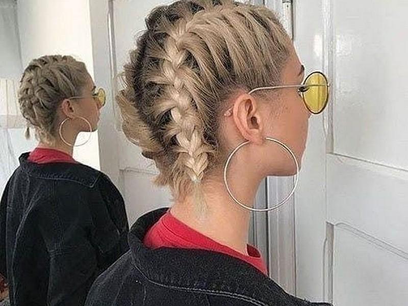 dutch braids short hairstyles 2