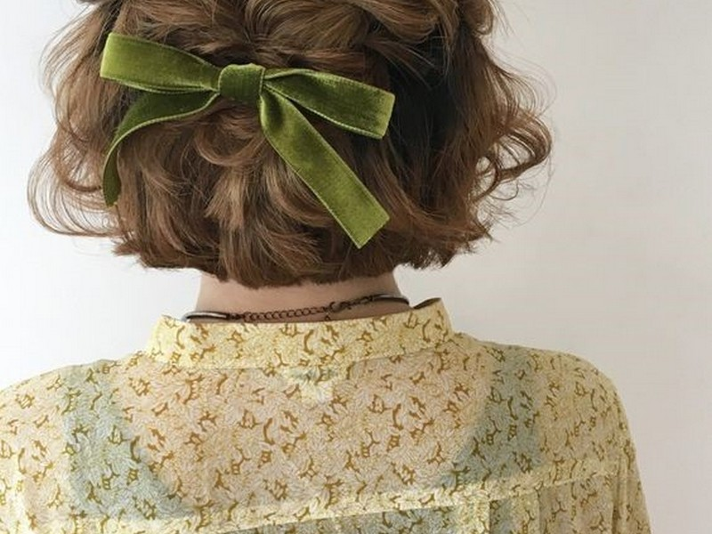 updo short hairstyles 2