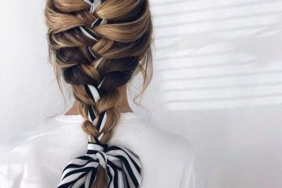 French Braid - The Classic Braid.