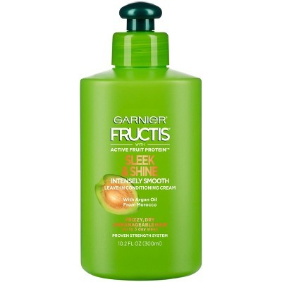 Garnier Fructis Smooth- Leave-In Conditioners For Color Treated Hair