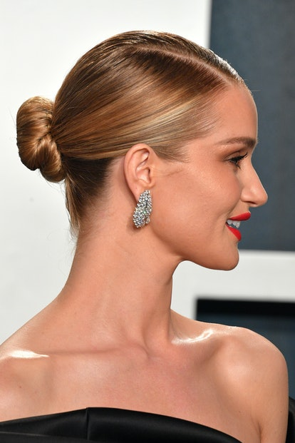The Low Bun - Sultry Red Carpet Hairstyles
