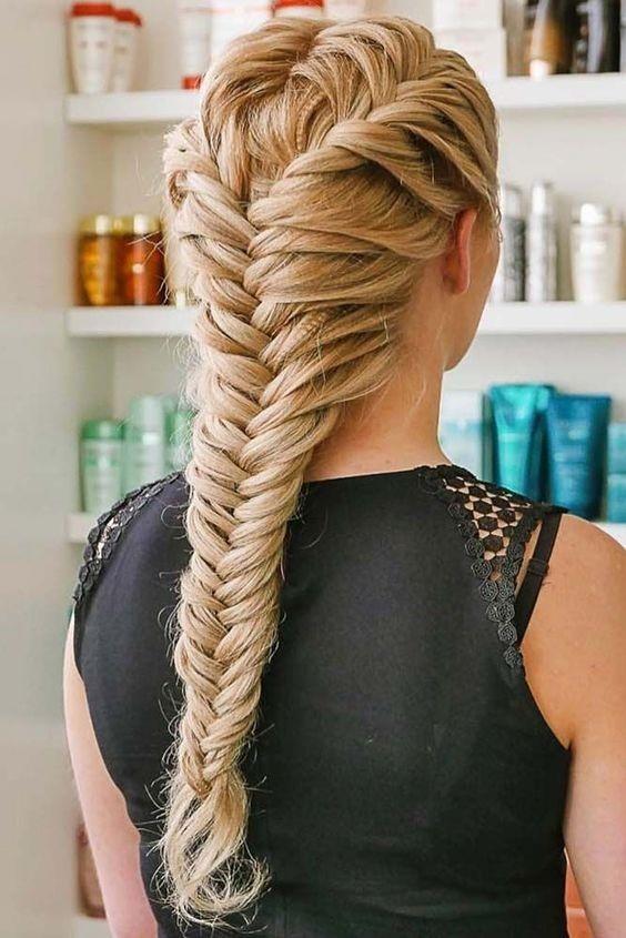 Fishtail. - The Braid For The Elegant Girls.