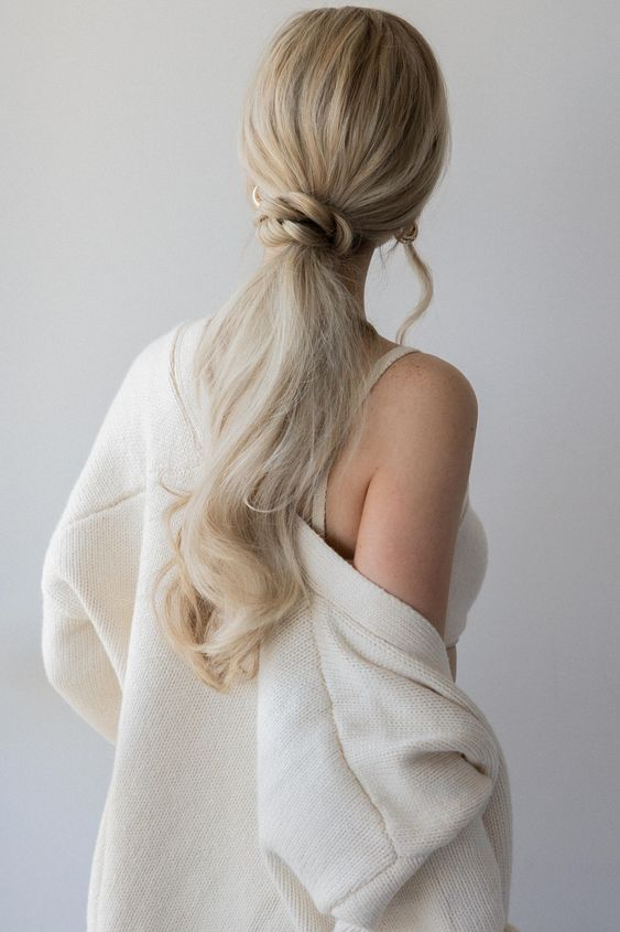 Braided Base Ponytail. - Cool Way To Wear Ponytails.