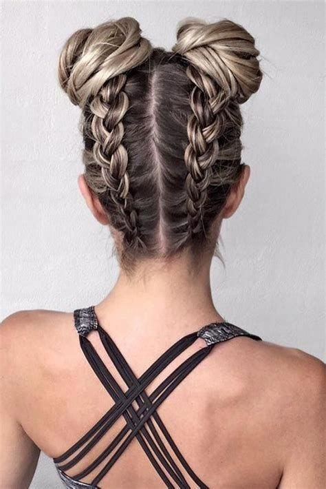 Braided Buns. - The Braid That Looks Good From Baddies To Lovelies