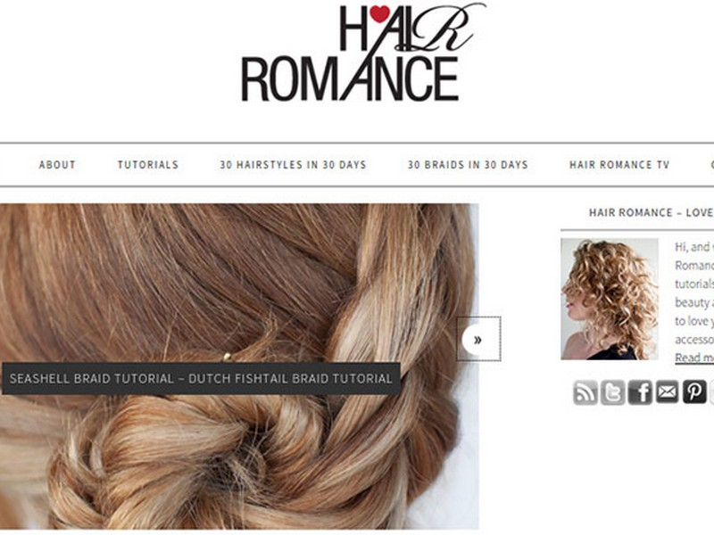 Hair Romance - Beauty Vloggers To Follow For Hair Care And Styles.