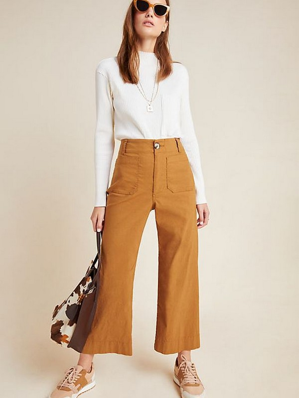 Wide-Leg Trousers - Super Chic Celebrity Outfits