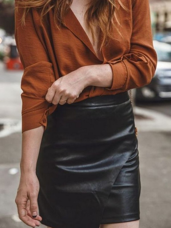 Leather - Celebrity Outfits For The Badass
