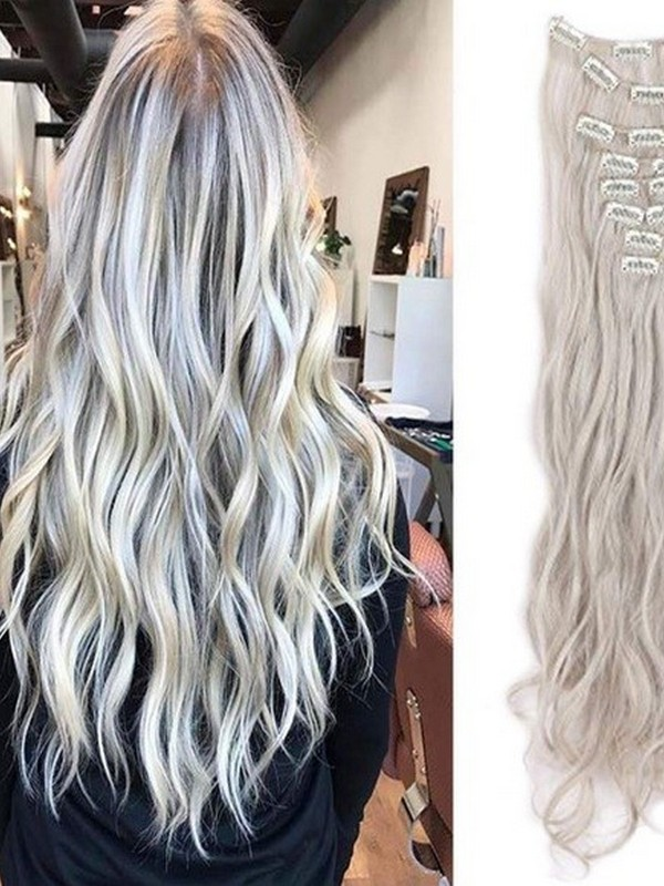 Blond. - Most Popular Hair Extension Colors.