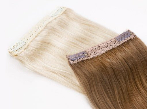 Quad Wefts - Voluminous Hair Extensions For Fine Hair.