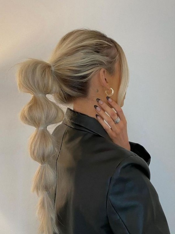 Bubble Braid - Fun And Easy Ways To Wear Hair Extension.