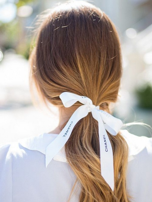 Low And Loose Ponytail - Romantic Ways To Wear Hair Extension.