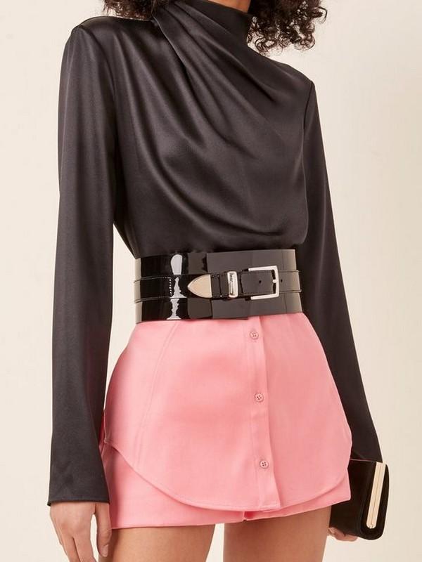 Accessories No 3: Wide Waist Belts
