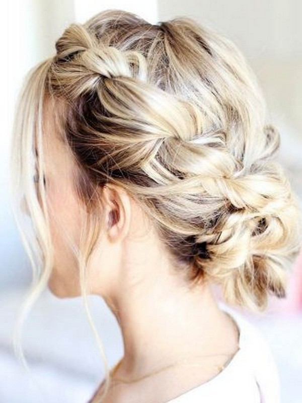 Rope Braids Updo - Best Updos That Are Simple