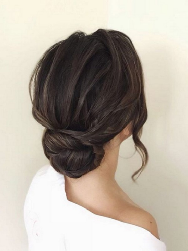 Simple Twisted Updo - Best Updos For A Quick Elegant Look