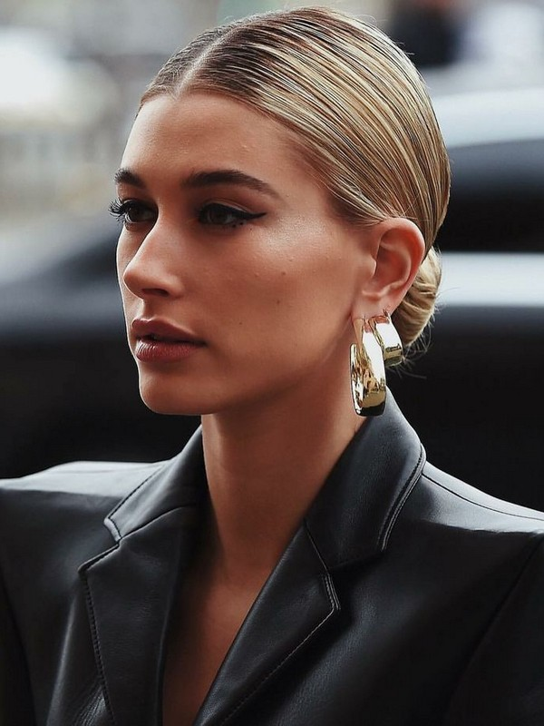 Slicked-Back Bun - Best Updos For The Ultra Chic Look