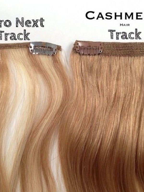 Cashmere Hair Clip-In Hair Extensions - Best Clip-In Hair Extensions For Fine Hair.