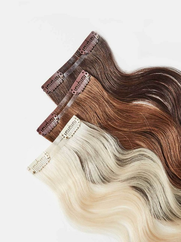 The Hair Shop Skinny Clip-In Single Piece - Clip-In Hair Extensions For Updos.