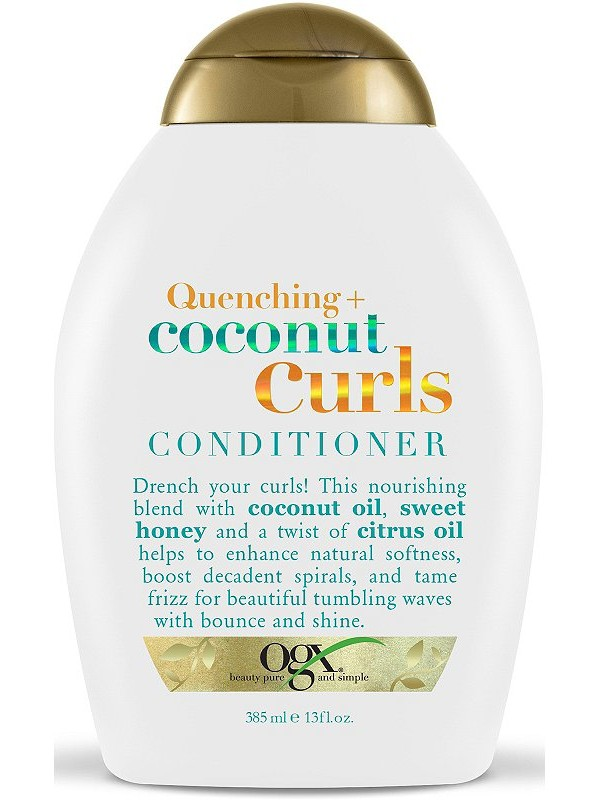 OGX Quenching Coconut Curls Conditioner - Natural Tones Conditioners For Curly Hair