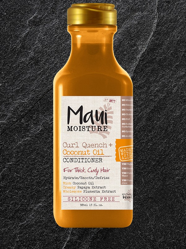 Maui Moisture Curl Quench + Coconut Oil Conditioner - Defrizz And Define Conditioners For Curly Hair