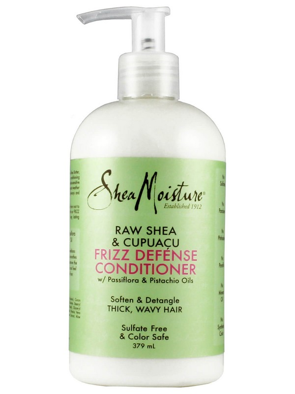 SHEAMOISTURE RAW SHEA & CUPUACU Frizz Defence Conditioner - Hydrated Conditioners For Curly Hair