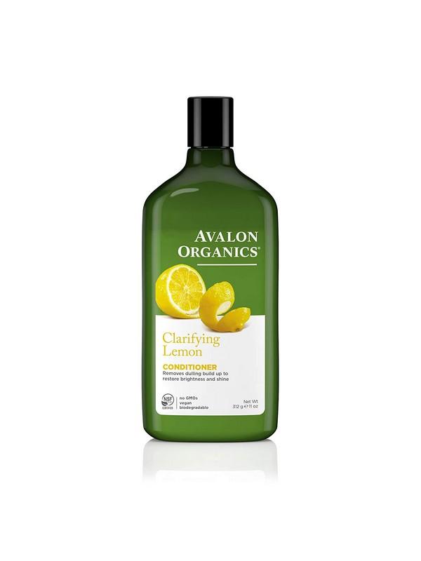 Avalon Organics Lemon Conditioner for Oily Hair - Refreshing Conditioners For Oily Hair