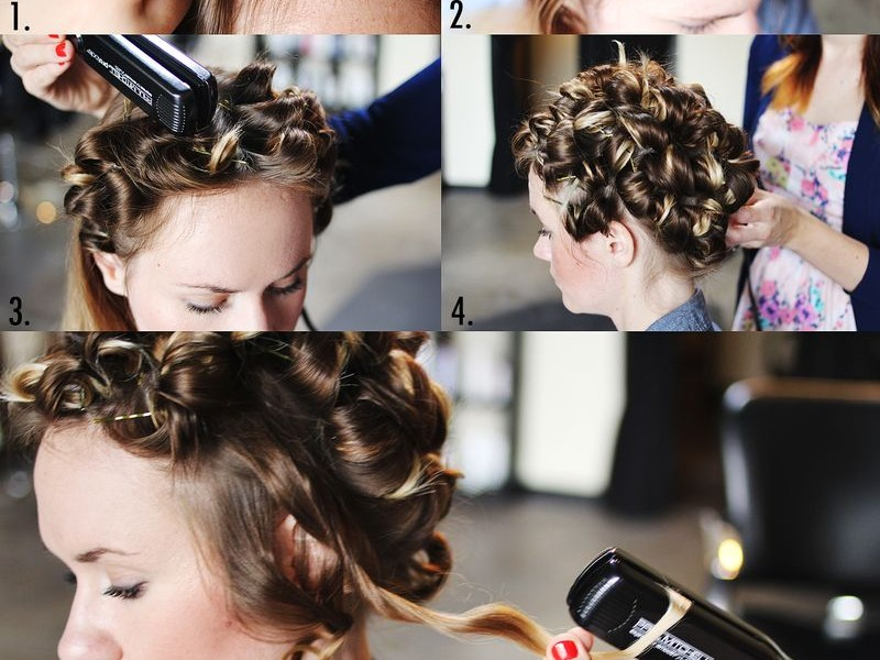 Tips For Perfect Curled Hair When You Curl Your Hair With A Flat Iron