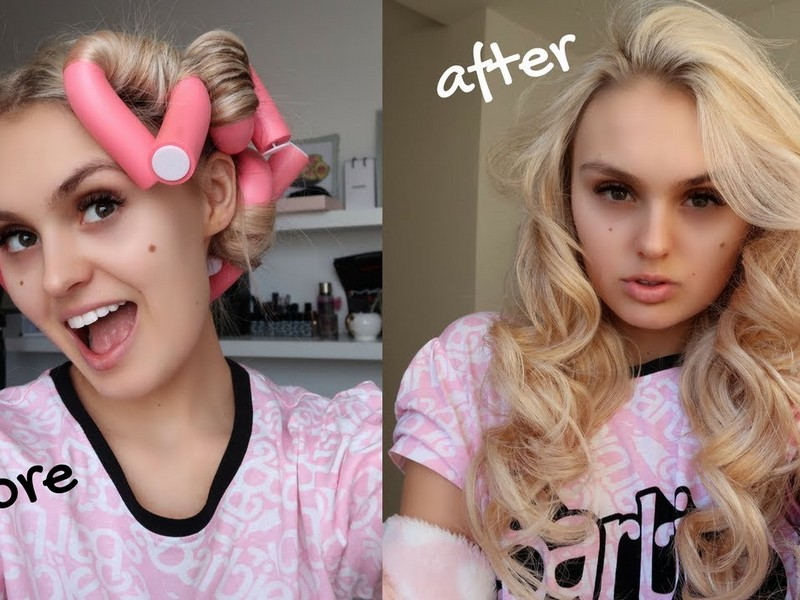 Steps To Curl Your Hair With Rollers.