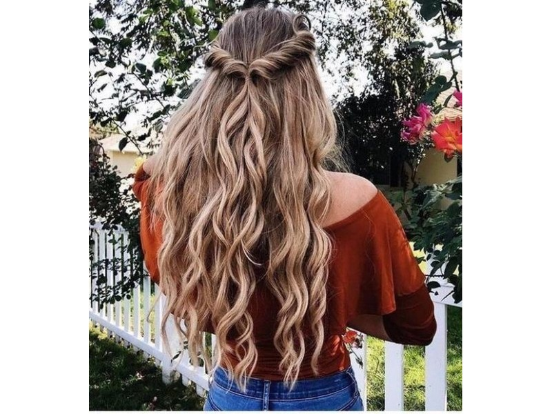 The Easy Waves. - Curly Hairstyles For Carefree Girls.