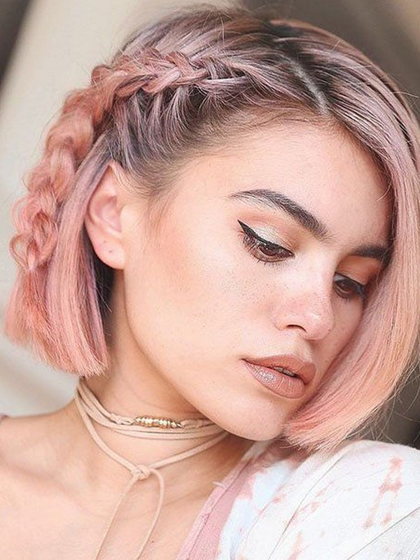 Side Braids - Super Chic And Easy Braids For Short Hair