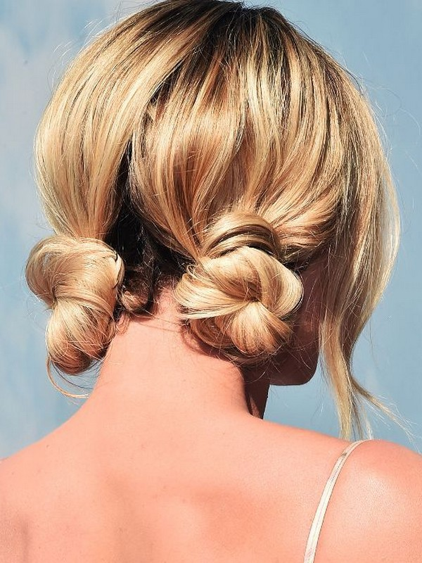 Twisted Bun - Romantic And Easy Braids For Short Hair