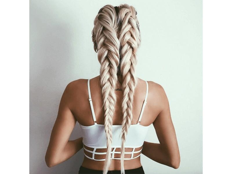 Loose Dutch Braids - Simple And Effortless Hairstyles