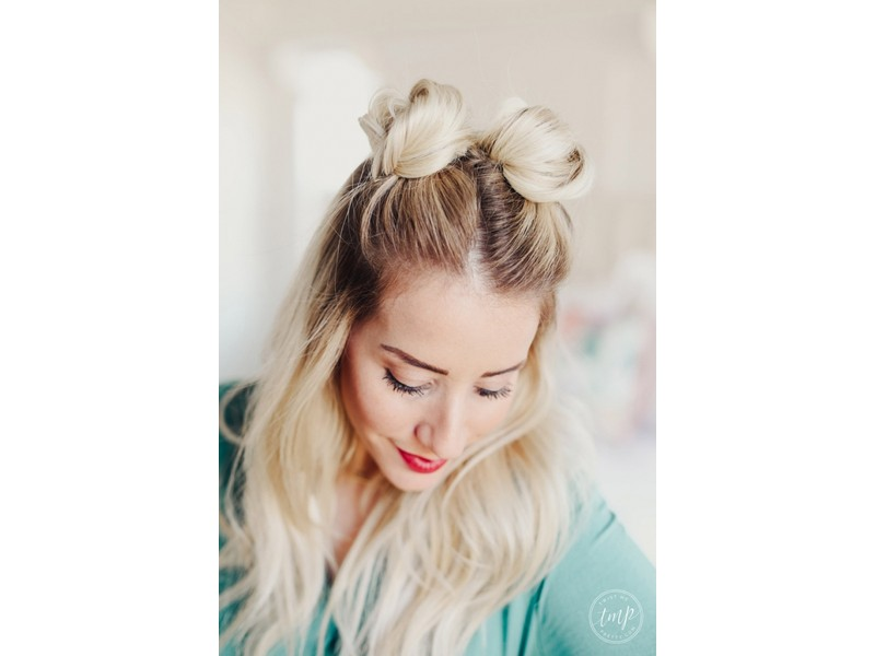 Double Space Buns - Effortless Hairstyles For Fun Girls