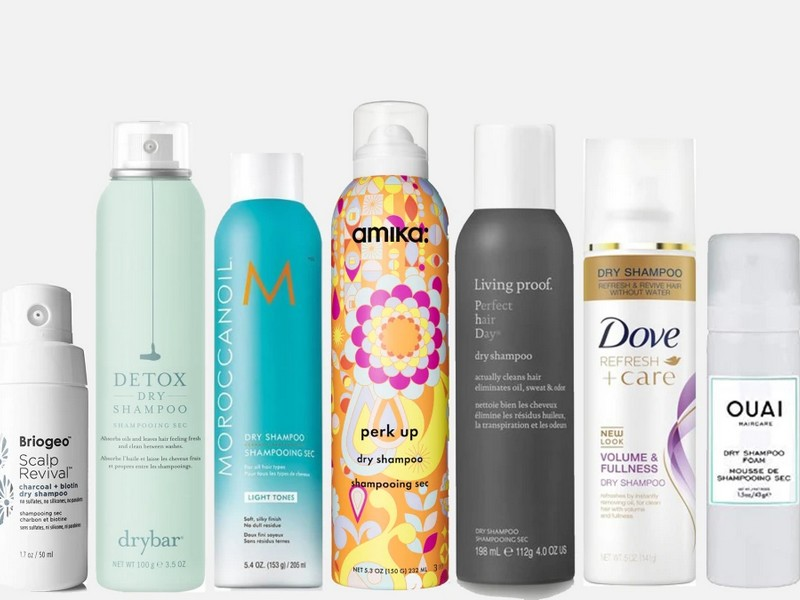 TIP 2 To Prevent and Fix Greasy Bangs: Dry Shampoo