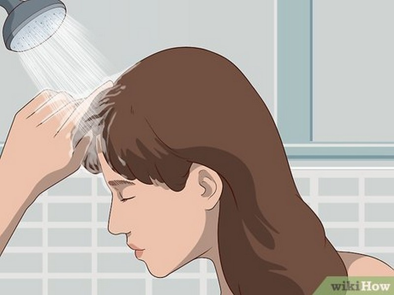 TIP 4 To Prevent and Fix Greasy Bangs: Wash Your Bangs Separately