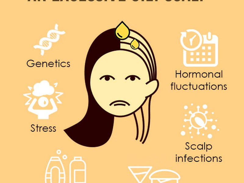 What Causes Greasy Hair
