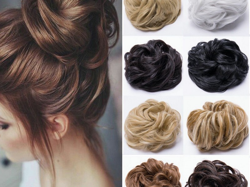 Updo. - Elegant Hair Extension Styles For Long Hair.