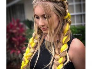 Braids. - Fun And Creative Hair Extension Styles For Long Hair.