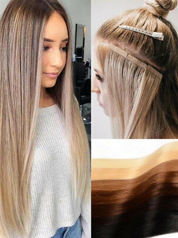 Tape In Hair Extensions - The Best Hair Extensions For Fine Hair.