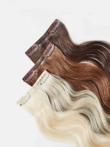 Clip In Hair Extensions - Quick Hair Extensions For Fine Hair.