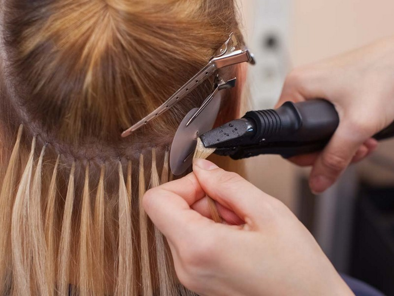 Fusion or Bonded Hair Extensions - Long Lasting Hair Extensions For Thick Hair.