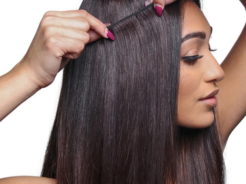 Clip-Ins- Easy And Cheap Hair Extensions For Thick Hair.