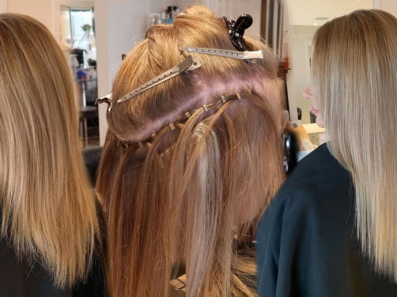 Hair Wefts- Best Hair Extensions For Thick Hair.