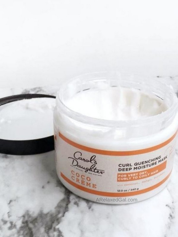 Coco Creme Deep Moisture Mask - Hair Masks For Curly Hair That Is Dry