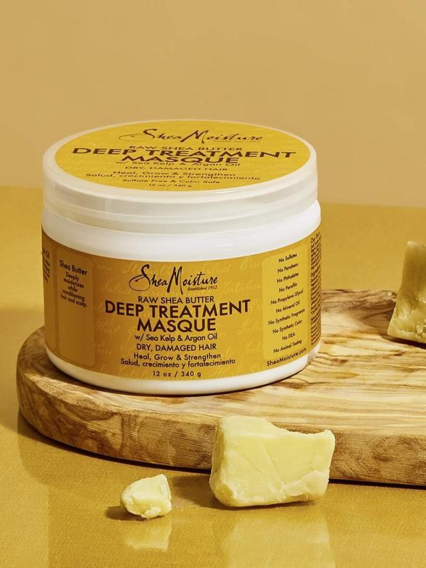 SheaMoisture Raw Shea Butter Deep Treatment Masque - Best Drugstore Hair Masks For Dry Hair