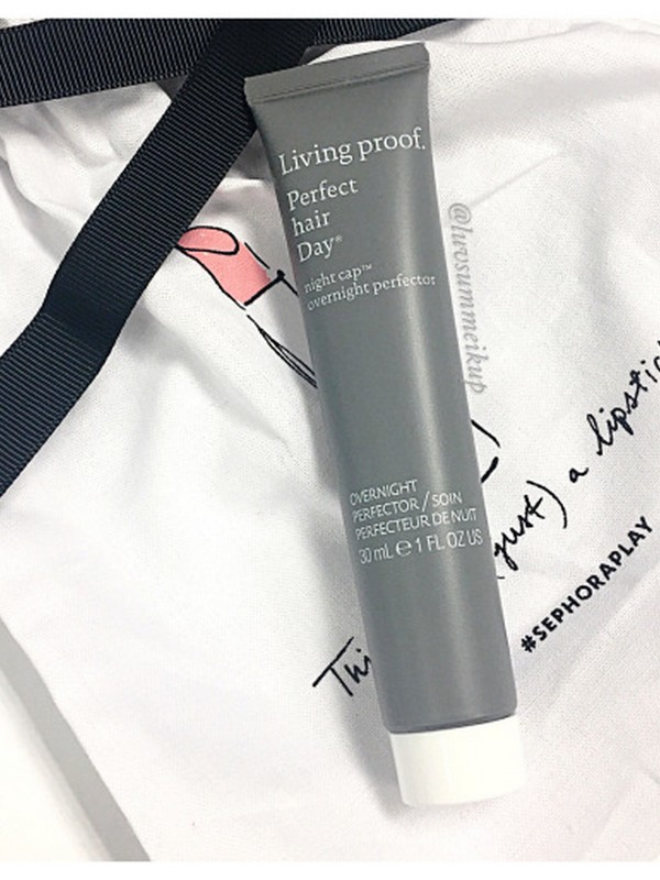 Living Proof Perfect Hair Day Night Cap Overnight Perfector - Best Overnight Hair Masks For Dry Hair