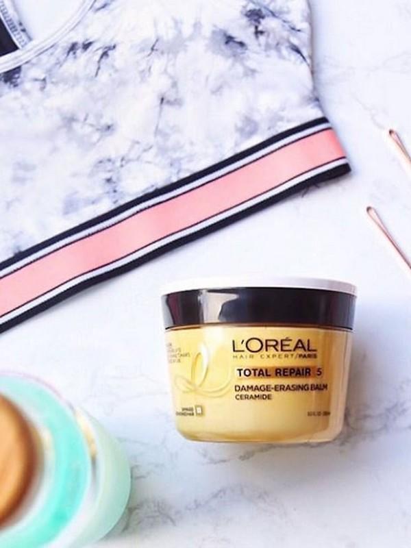 L'Oréal Elvive Total Repair 5 Damage-Erasing Balm - Best Budget Hair Masks For Dry Hair