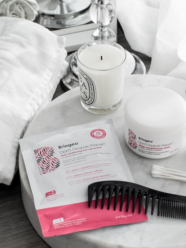 Briogeo Don't Despair, Repair! Deep Conditioning Hair Cap System - Best Cap Hair Masks For Dry Hair
